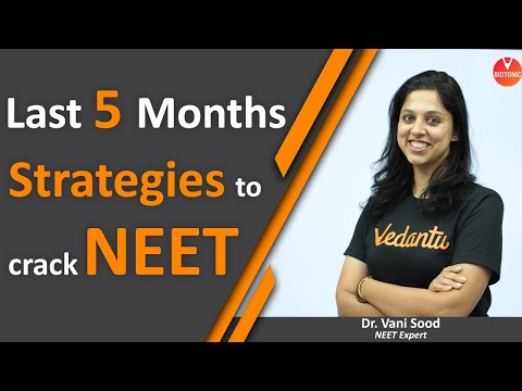 How to Crack NEET 2020 in 5 Months? NEET 2020 Strategies| How to Score 600+ in NEET 2020 | VBiotonic