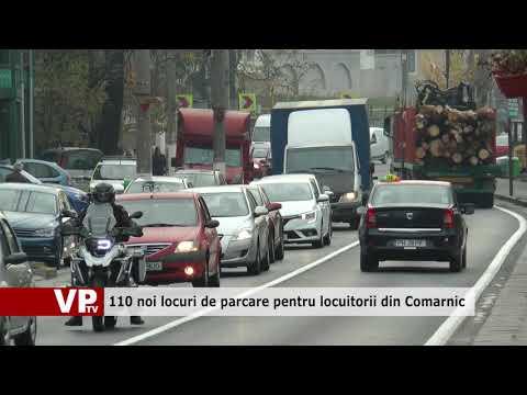 110 noi locuri de parcare pentru locuitorii din Comarnic