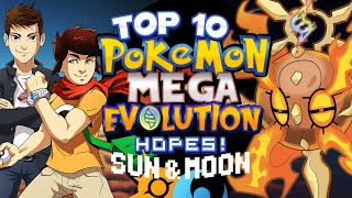 Top 10 Mega Evolution Hopes For Pokémon Sun And Moon Ft. Jethrotex