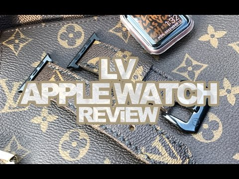 LV APPLE WATCH STRAP REViEW
