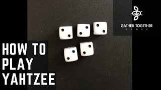 How To Play Yahtzee