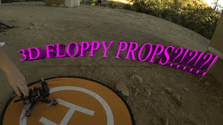 Trying out Floppy Props in 3D MODE! with ZOE FPV!