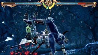 Soulcalibur 6 - Yoshimitsu vs Taki (Soulcalibur VI 2018) PS4 Pro