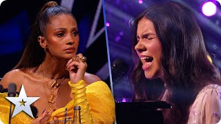 Sirine Jahangir's memorable version of 'Carry You' has us all crying | Semi-Finals | BGT 2020