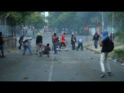 Protest in Nicaragua turns violent between students and police
