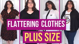 Clothes That Flatter a Plus Size Figure - How to Look Slimmer