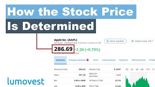 How is the Stock Price Determined? | Stock Market for Beginners (Part 1) | Lumovest