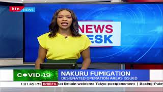Combating Covid-19: Nakuru county public health officials to oversee the city fumigation