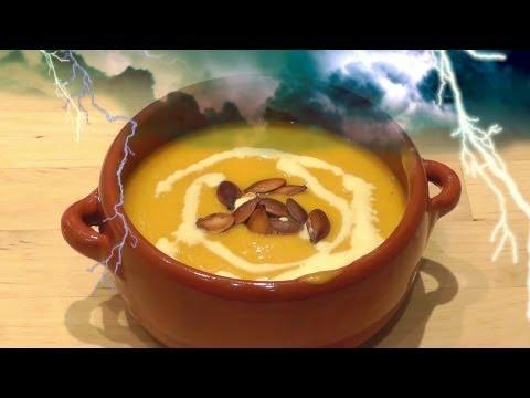 Pumpkin Soup Halloween Recipe How to Make