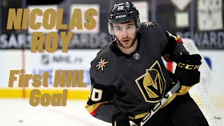 Nicolas Roy #10 (Vegas Golden Knights) first NHL goal 27/10/2019