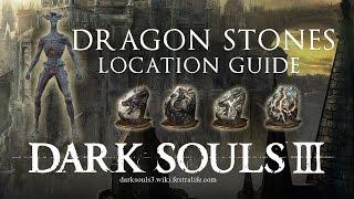 Dragon Head & Torso, Twinkling Stones ► Dark Souls 3 Location Guide