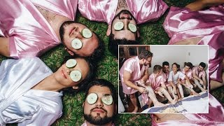 Bride with No Girl Friends Has Glamorous All-Male Bachelorette Party