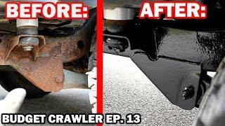 Rusty FRAME RESTORATION on a JEEP WRANGLER | Budget Crawler Ep. 13