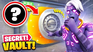 *NEW* SECRET Vault OPENED in Fortnite Season 6! (HOW TO OPEN!)