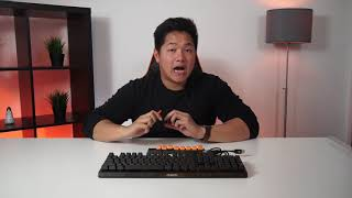 Switching Your Switches | AORUS K9 Optical Gaming Keyboard