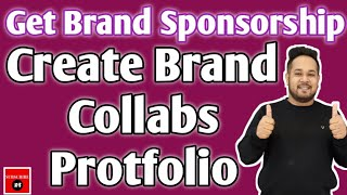 How to get sponsorship using Facebook Brand Collabs Manager | Set up brand collabs manager portfolio