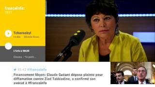FranceInfo: Michèle Rivasi sur Tchernobyl et Fukushima