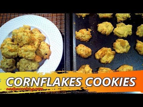 Video Resep dan Cara Membuat Kue Kering Cornflakes Cookies