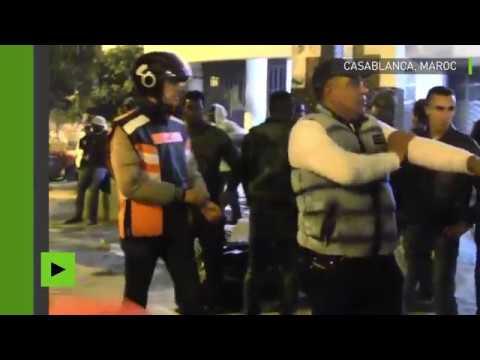 Affrontements entre habitants et migrants à Casablanca