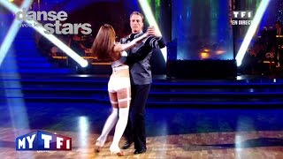 DALS S01 - Un Tango Avec David Ginola Et Silvia Notargiacomo Sur Poker Face (Lady Gaga)