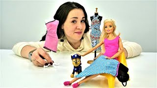 Мультики Бюро находок - Одевалки: Барби потеряла платье