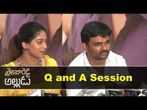 Shailaja Reddy Alludu Team Q and A