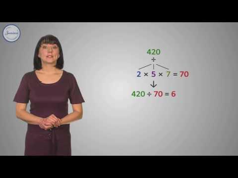 Признак делимости на произведение взаимно простых чисел