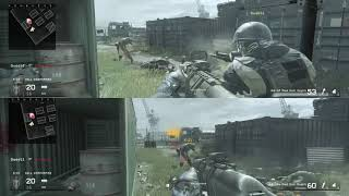 call of duty modern warfare remastered ps4 multiplayer split