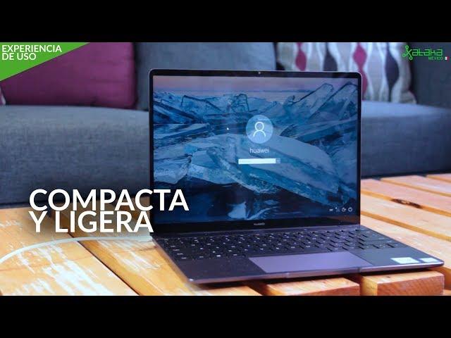 """Huawei Matebook 13"""", EXPERIENCIA DE USO: una portátil PEQUEÑA y FUNCIONAL"""