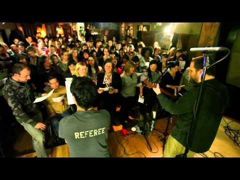 choir! choir! choir! sings Weezer - Holiday