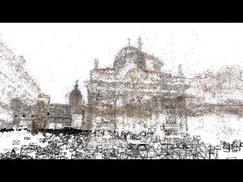 Entire City Rendered In 3D Using Nothing But Flickr Photos