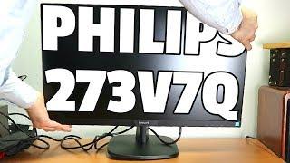 Günstiger Monitor mit schmalen Rahmen Philips 273V7QJ (dünner Rand)