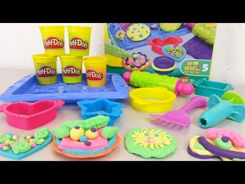 Play-Doh Plätzchen Party auspacken und gestalten seratus1 unboxing