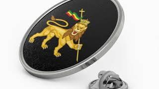 Rasta lion wear Metal Pin RLW2499