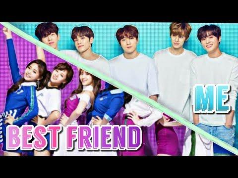 My Best Friend VS. Me II K Pop Preferences