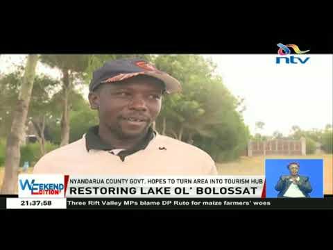 Nyandarua county government hopes to turn Lake Ol' Bolossat into tourism hub