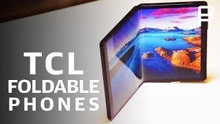 TCL's foldable prototypes First Look at MWC 2019