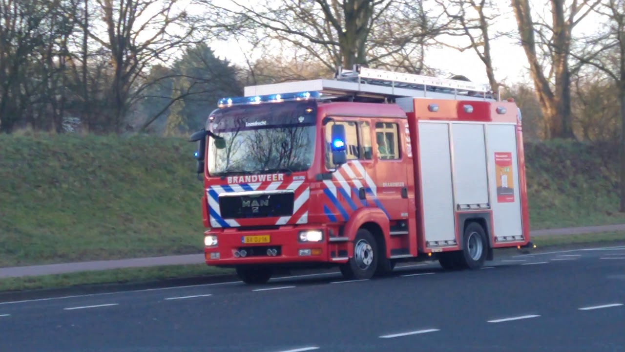 P1 brand gebouw (NB: MIDDEL BRAND) Hilversum 14-2731