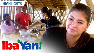 Angel Locsin shares a meal with the fishermen of Mauban, Quezon.  Subscribe to the ABS-CBN Entertainment channel! http://bit.ly/ABS-CBNEntertainment  Visit our official website!  http://entertainment.abs-cbn.com http://www.push.com.ph  Facebook: http://www.facebook.com/ABSCBNnetwork Twitter: https://twitter.com/ABSCBN  Instagram: http://instagram.com/abscbn  #KapamilyaChannel #IbaYanHighlights #IbaYan
