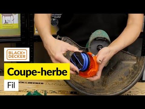 Comment Remplacer la Bobine de fil d'une Coupe-Bordure Black et Decker