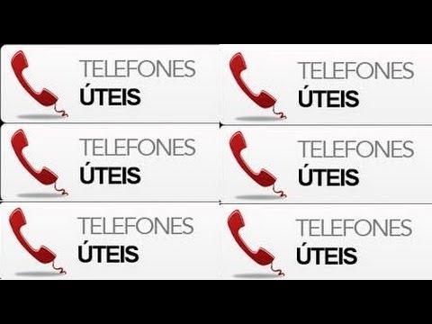TELEFONES ÚTEIS DE JUQUITIBA