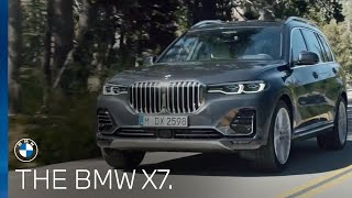 Introducing the new BMW X7.