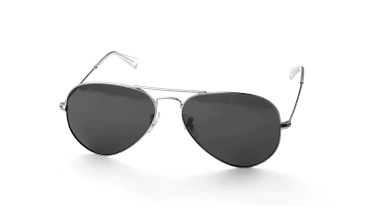 ray ban aviator 3025 black lens