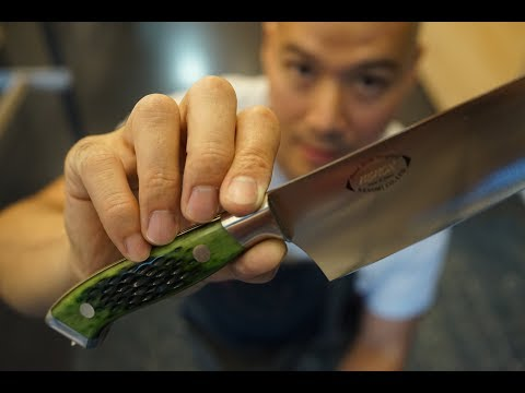 $3000 Japanese Samourai Kitchen Knife