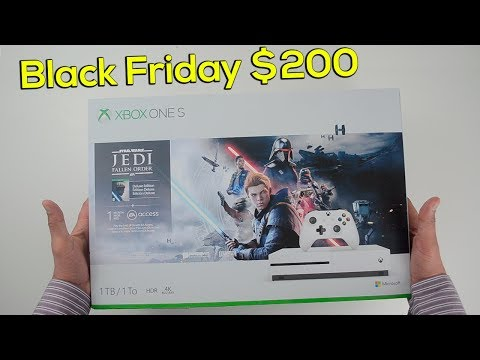 Xbox One S 1TB Star Wars Jedi Fallen Order Bundle - $200 on Black Friday