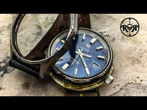 Restoration of a rare vintage Omega Seamaster Cosmic 2000 watch