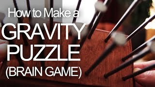 How to Make a Gravity Puzzle (Brain Game) by The King of Random