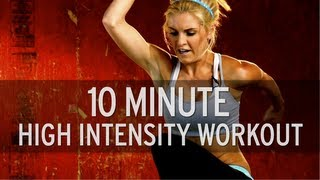 10 Minute High Intensity Workout by XHIT Daily