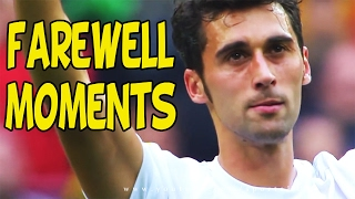 Football Farewell Moments ● Crying Farewell Moments ● Respect