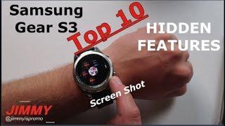 Gear S3 | Top 10 HIDDEN Features [60fps]
